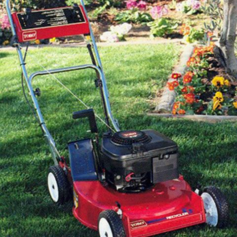 1980: Toro introduces the Recycler®, a revolutionary mulching mower that practically eliminates the need to bag grass clippings thus dramatically reducing customers' mowing time.