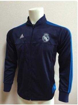 really comfortable lowest discount wholesale outlet REAL MADRID AZUL CHAQUETA DE FUTBOL 2015-16 | Cheap gowns ...