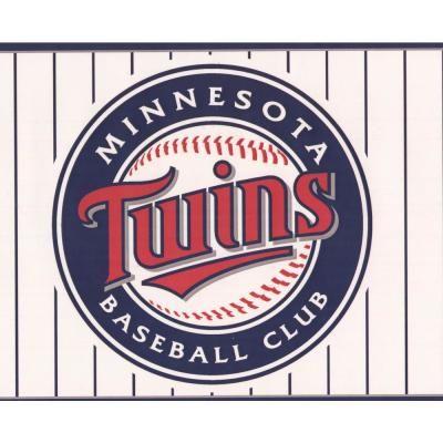 York Wallcoverings Minnesota Twins MLB Baseball Team Fan