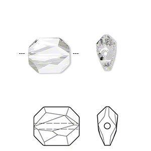 Bead, Swarovski® Crystals, Crystal Passions®, Crystal