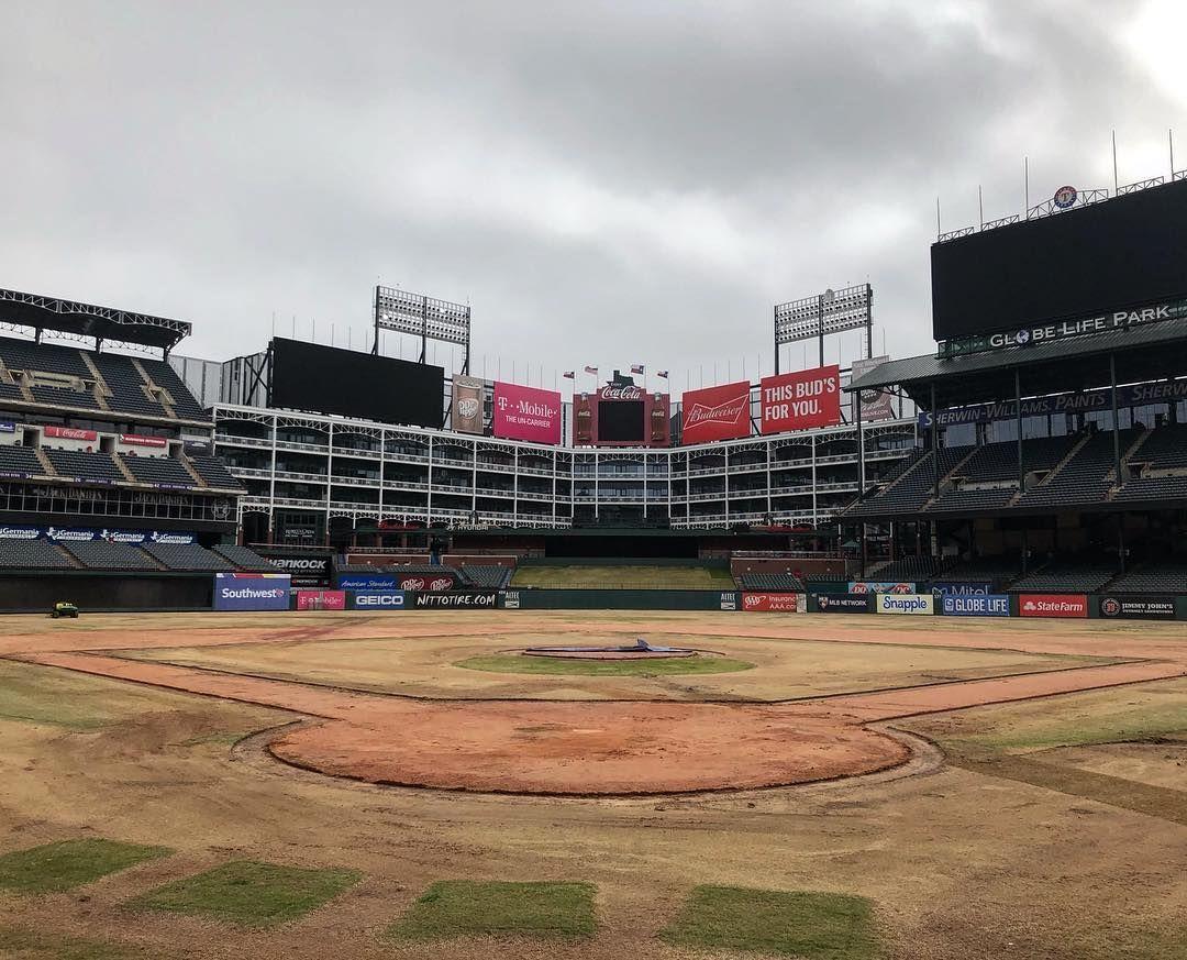 Zombieland 2009 Texas Rangers Baseball Field Ranger