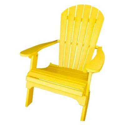 outdoor phat tommy recycled plastic folding adirondack chair 701
