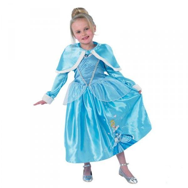 Disney Princess Winter Cinderella Kostüm