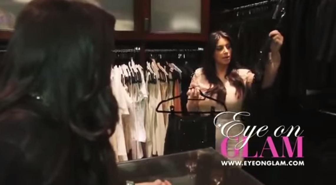 Kim Kardashian Closet. ilikeclosets.com (With images ...