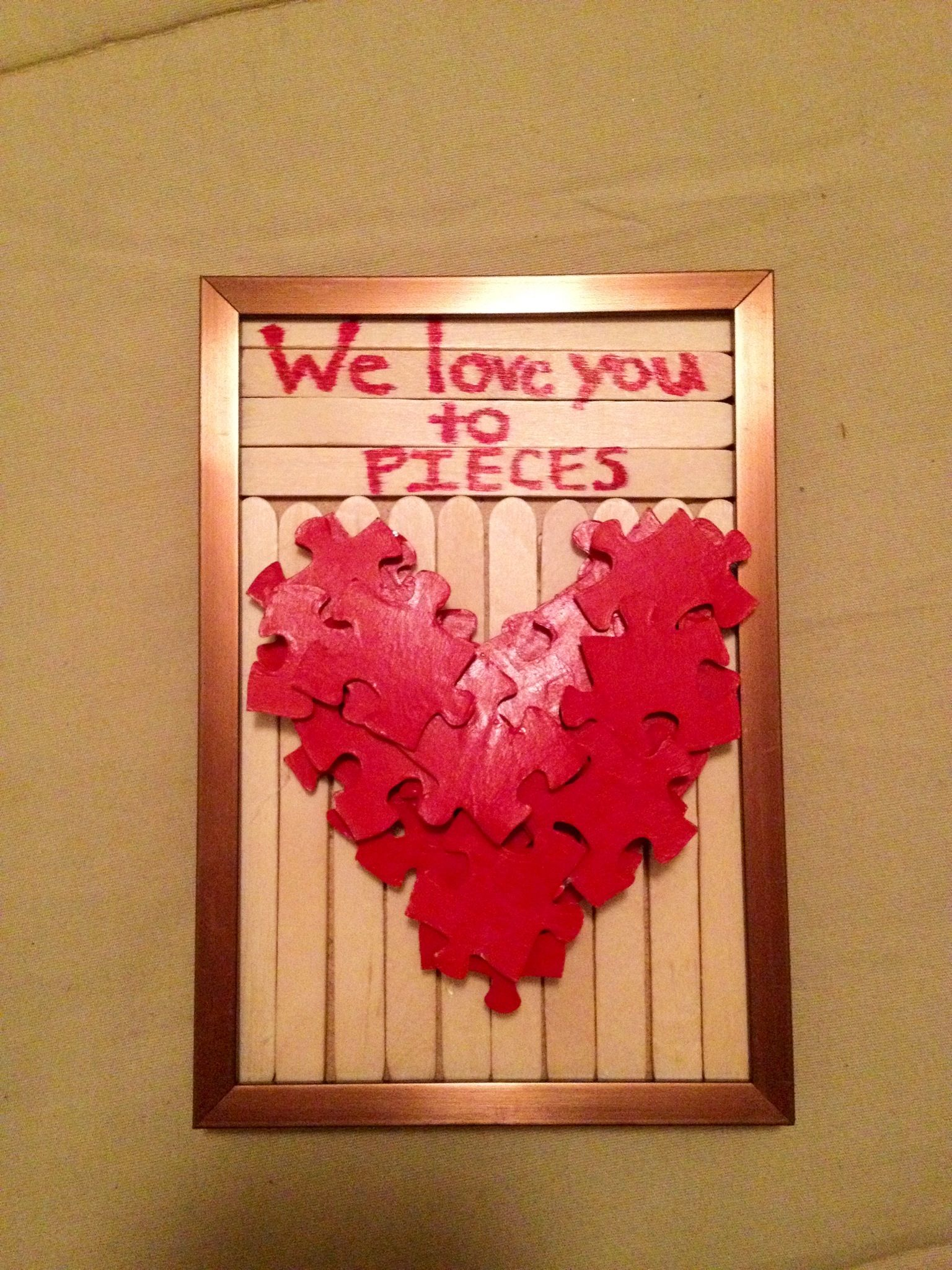 Diy Valentines Gift Great Craft For Kids To Make For Mom Or Dad
