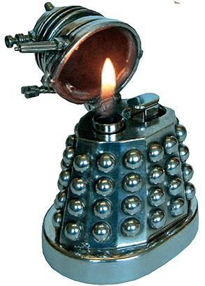 Dalek Pewter Table Lighter Image