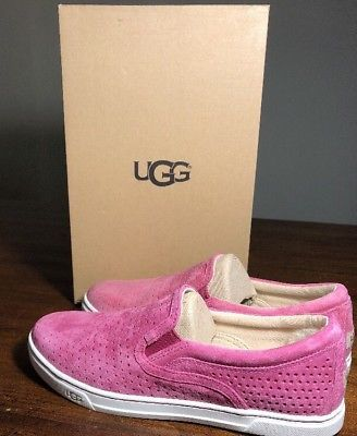 0235f3fc28c UGG 1011250 Fierce Geo FUCHSIA NEW* Perforated Slip-On Sneaker ...