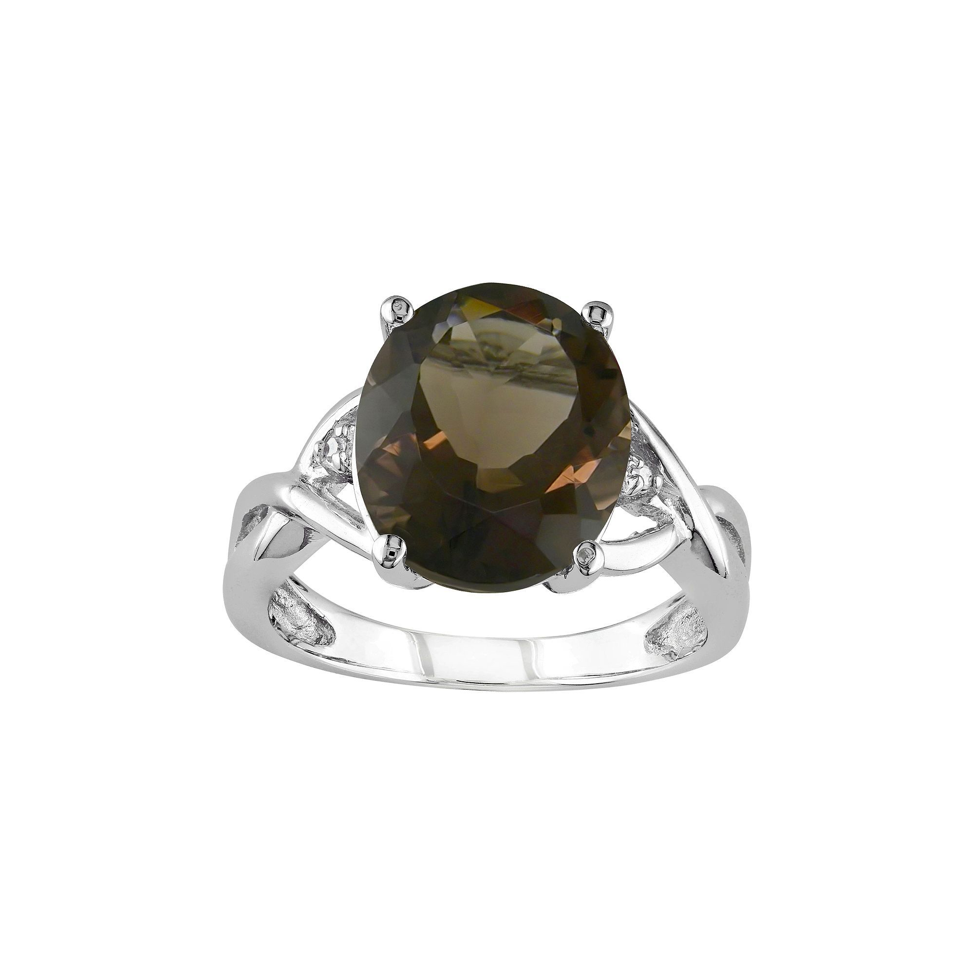 quartz smoky fashion axis in limited x ring matrix jewelry js product rings engagement intenebris by