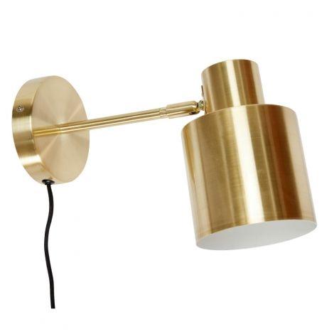Wandlampe Messing  designupdate.de