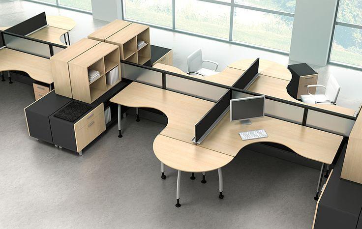 Büromöbel Arbeitsbereich Büro Möbel Bürozubehör   Büromöbel design, Büroraumgestaltung, Moderne ...