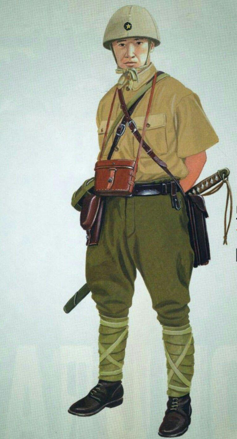 Pin on WWII INFANTRYJapanese Military Uniform Ww2