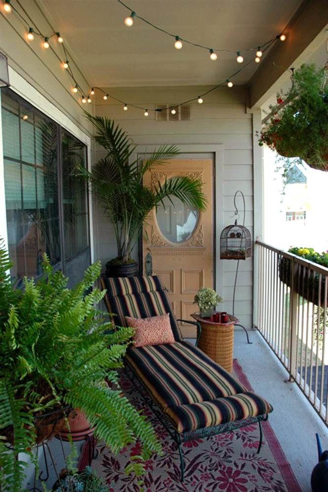 Outdoor spaces Balcones, Decoración urbana y Pequeña terraza