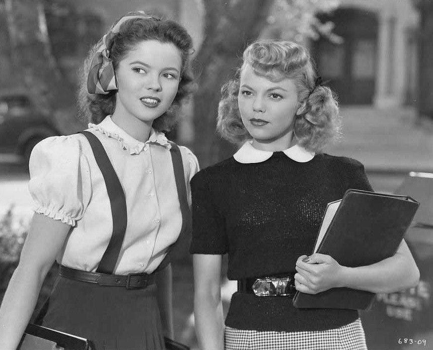 Shirley Temple And Jean Porter In That Hagen Girl 1947 Shirley