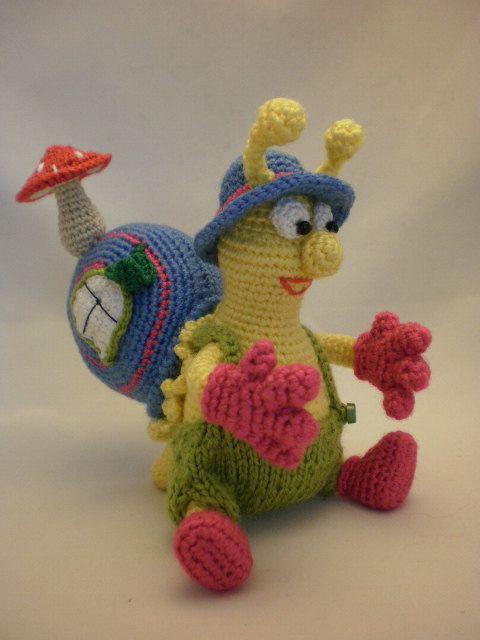 Snailman. Ulitkin  The Traveller. Toy crochet pattern von ToyMagic, €2.99