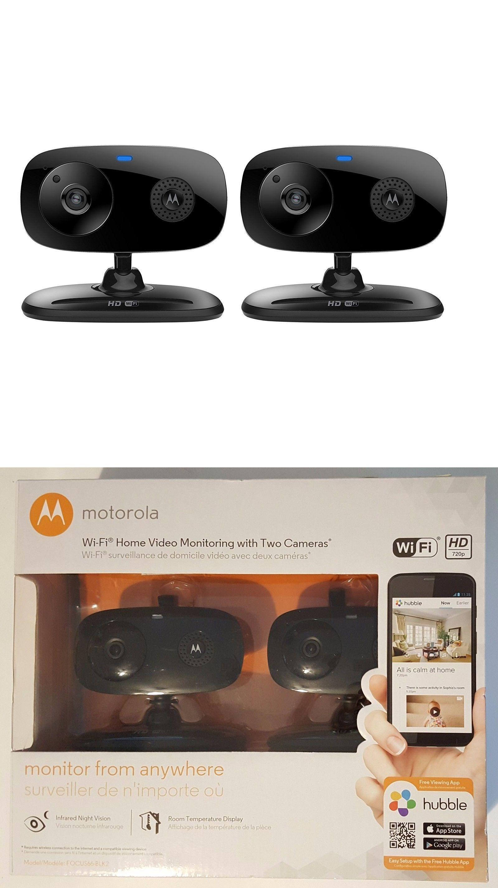 Surveillance Security Systems New Motorola FocusBlk WiFi Home