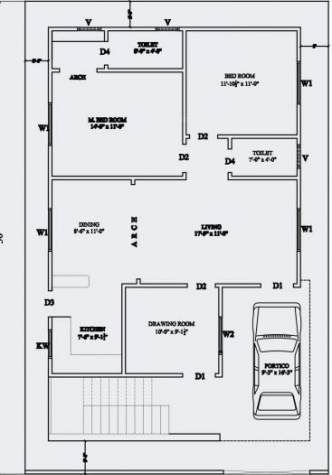 House Layout Plans India 44 Ideas 30x40 House Plans 30x50 House Plans Simple House Plans