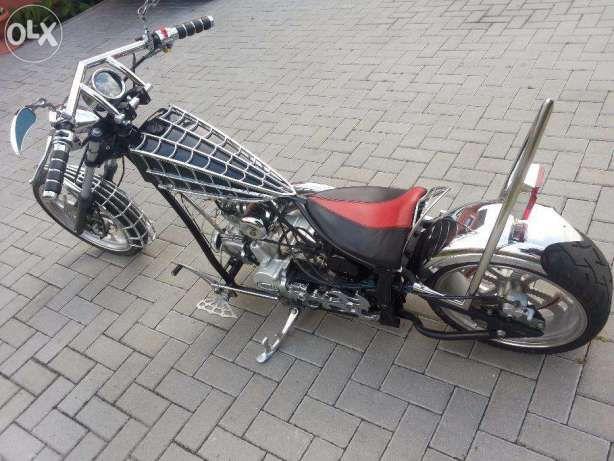 Mini Chopper 110 Cm Black Widow Rezerwacja Lwowek Image 2 Mini Chopper Chopper Mini Bike