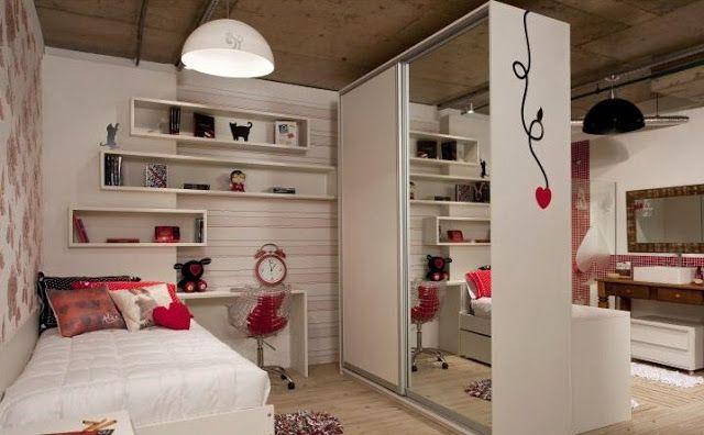 Dormitorios y cuartos para chicas adolescentes for Decoracion de cuartos para jovenes