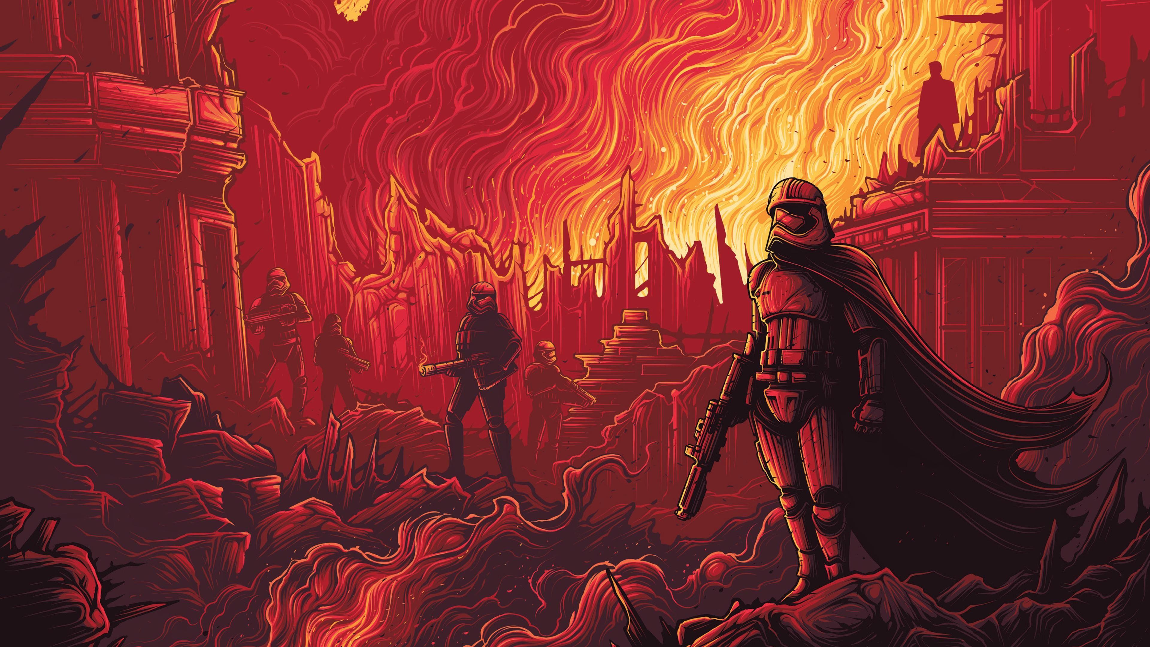 The Force Awakens IMAX Wallpapers 3840x2160 (4K) Arte