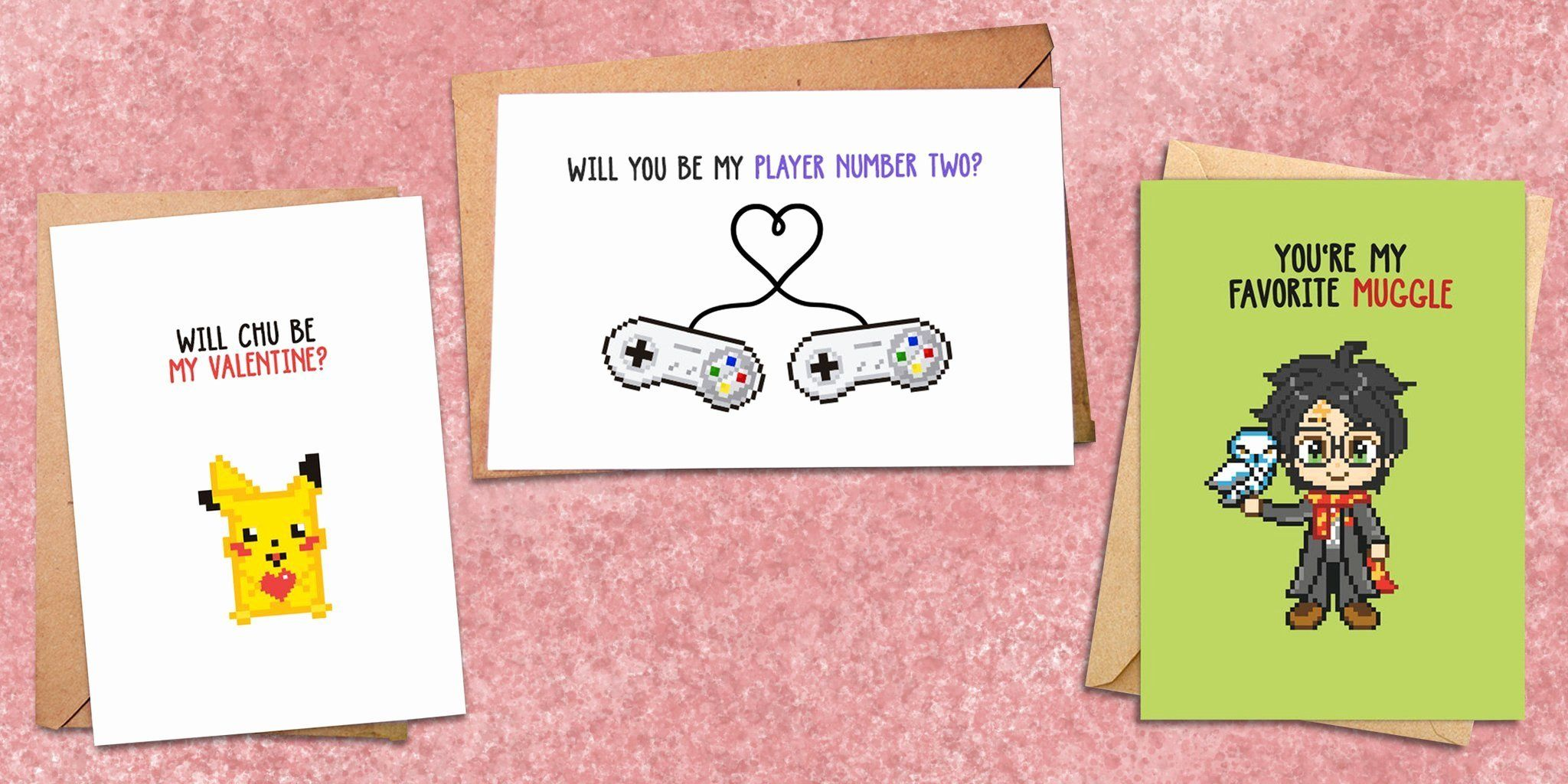 My Online Valentine Beautiful Thrill Your Valentine With These Preciously Nerdy Cards Valentines Card Design Cute Valentines Card Nerdy Cards