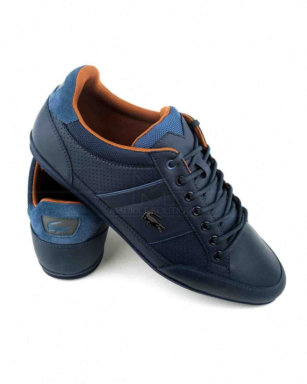 e8e7a1af LACOSTE © Navy Blue Shoes ✶ Chaymon | BEST PRICE Lacoste Shoes Mens,  Lacoste Men