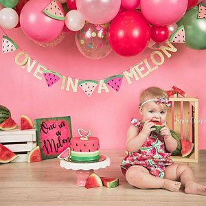 EDITABLE Printable Watermelon Party, Watermelon Invite Watermelon Birthday Invitation 1st Birthday,