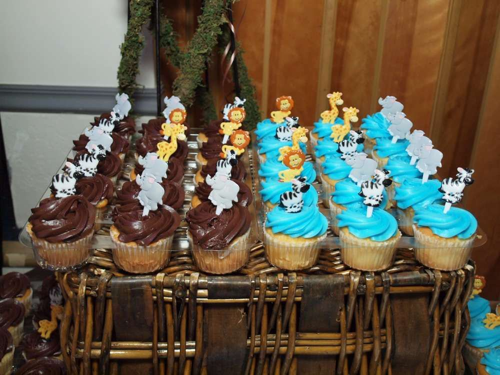 wild blue safari Baby Shower Party Ideas Baby shower parties and