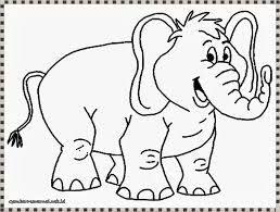 [Paling disuka] Mewarnai Gambar Binatang Gajah