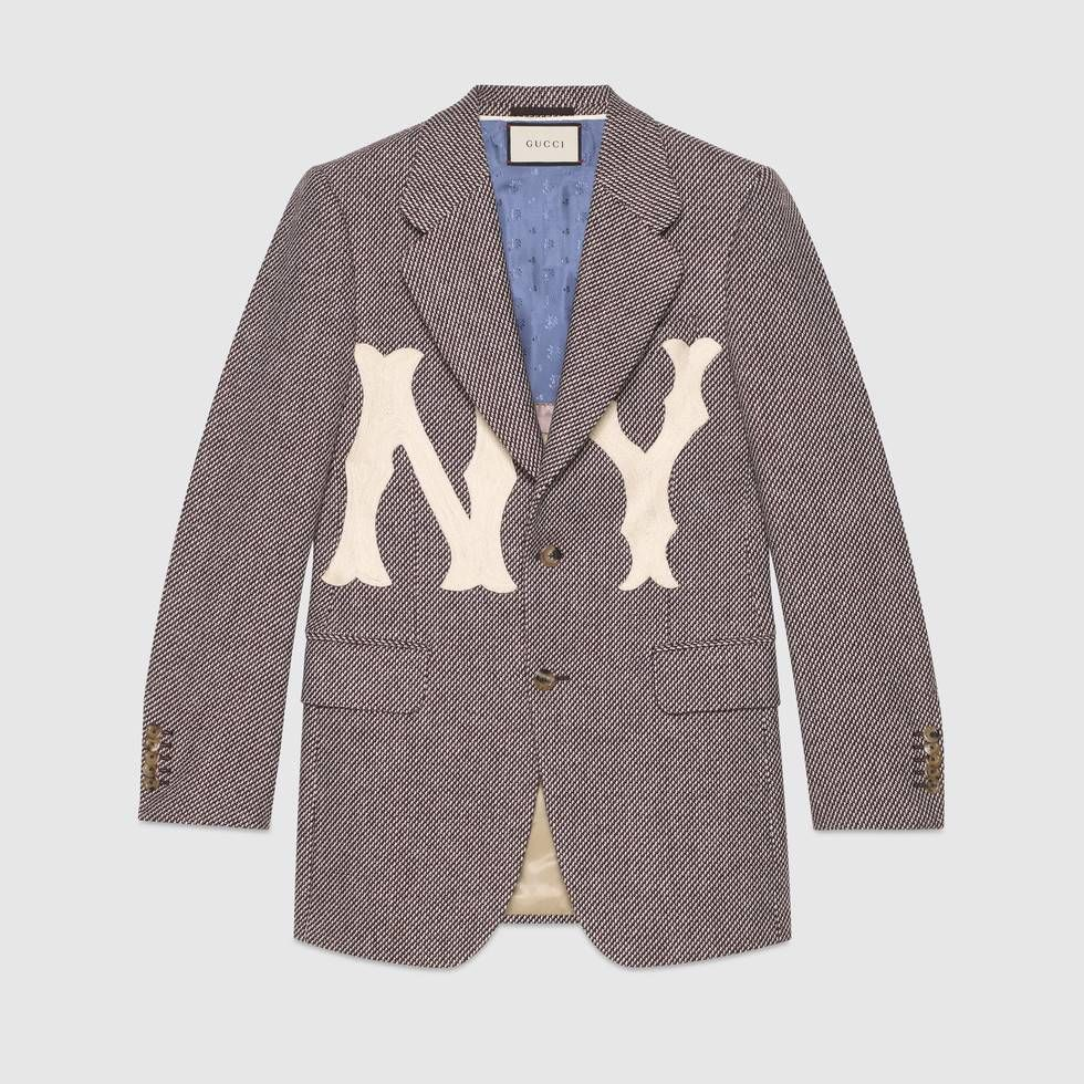 a1b7c01add2b1 Men s nylon coat with NY Yankees™ patch