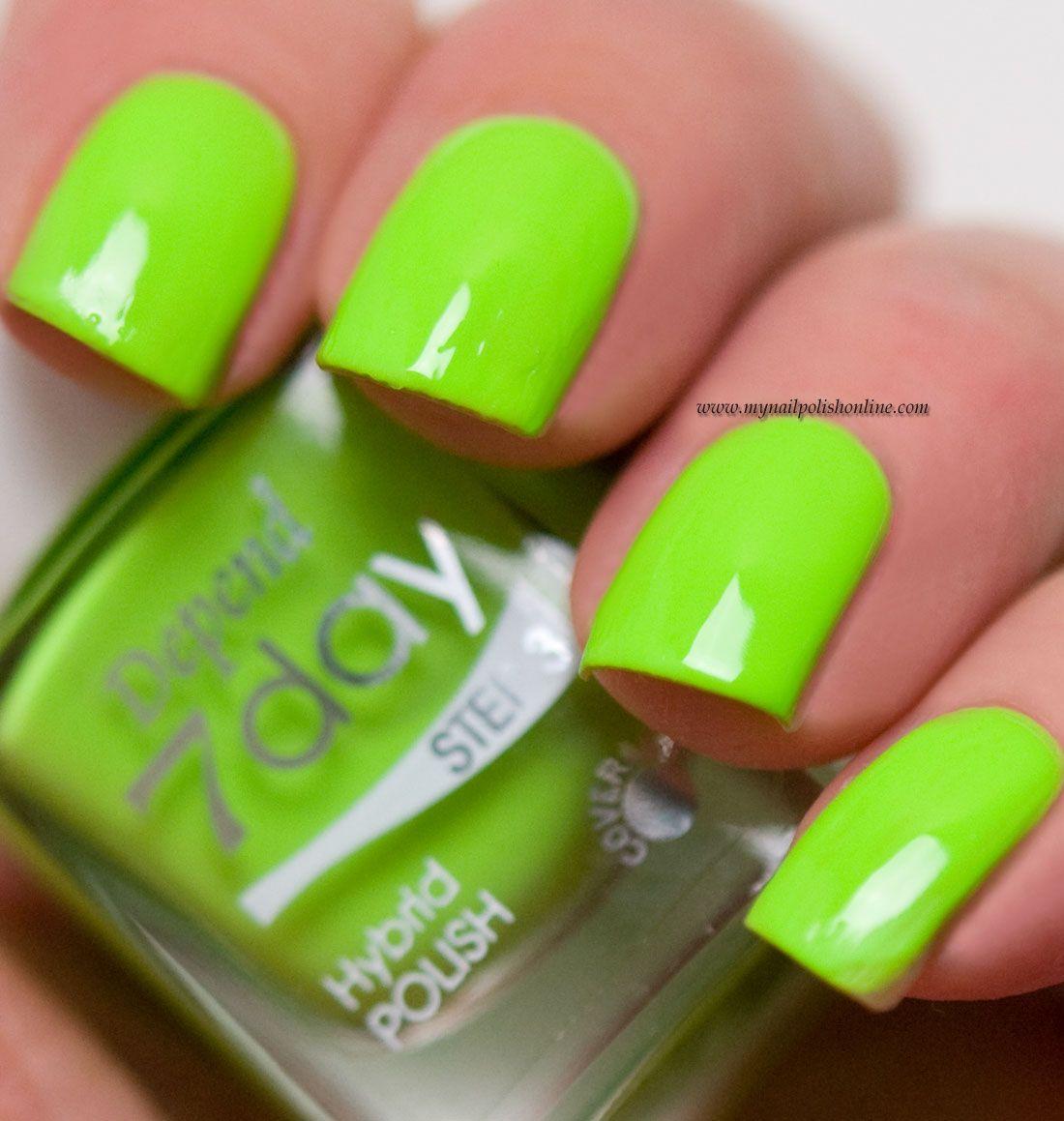 Depend - Knock Out Neon | Neon, Nail polish online and Nail polish art