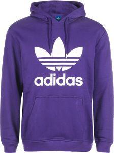 Trefoil Hoodie Blue XS Womens   Women hoodies sweatshirts