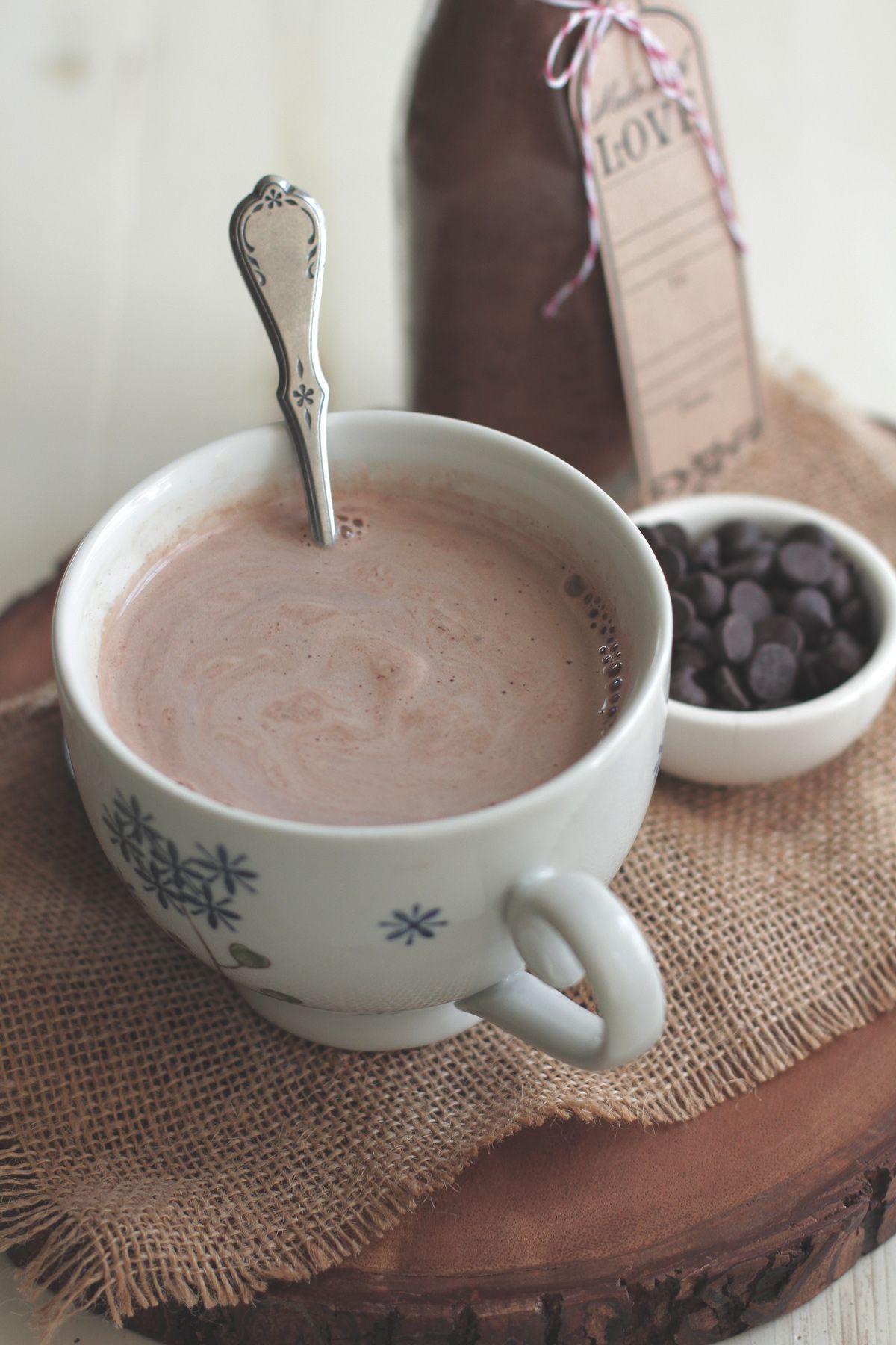 Diy homemade hot chocolate mix recipe homemade hot