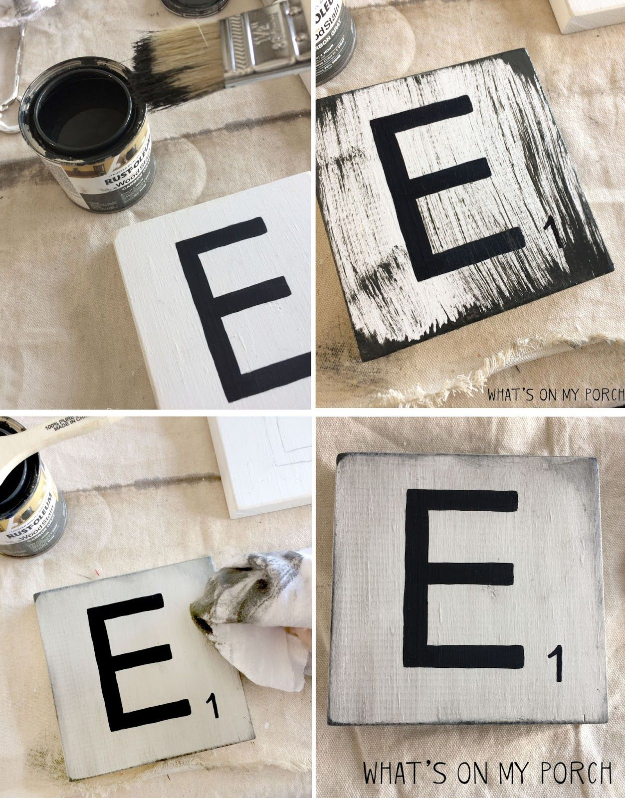 diy scrabble tile wall decor scrabble tile letters pinterest deko trautes heim und basteln. Black Bedroom Furniture Sets. Home Design Ideas