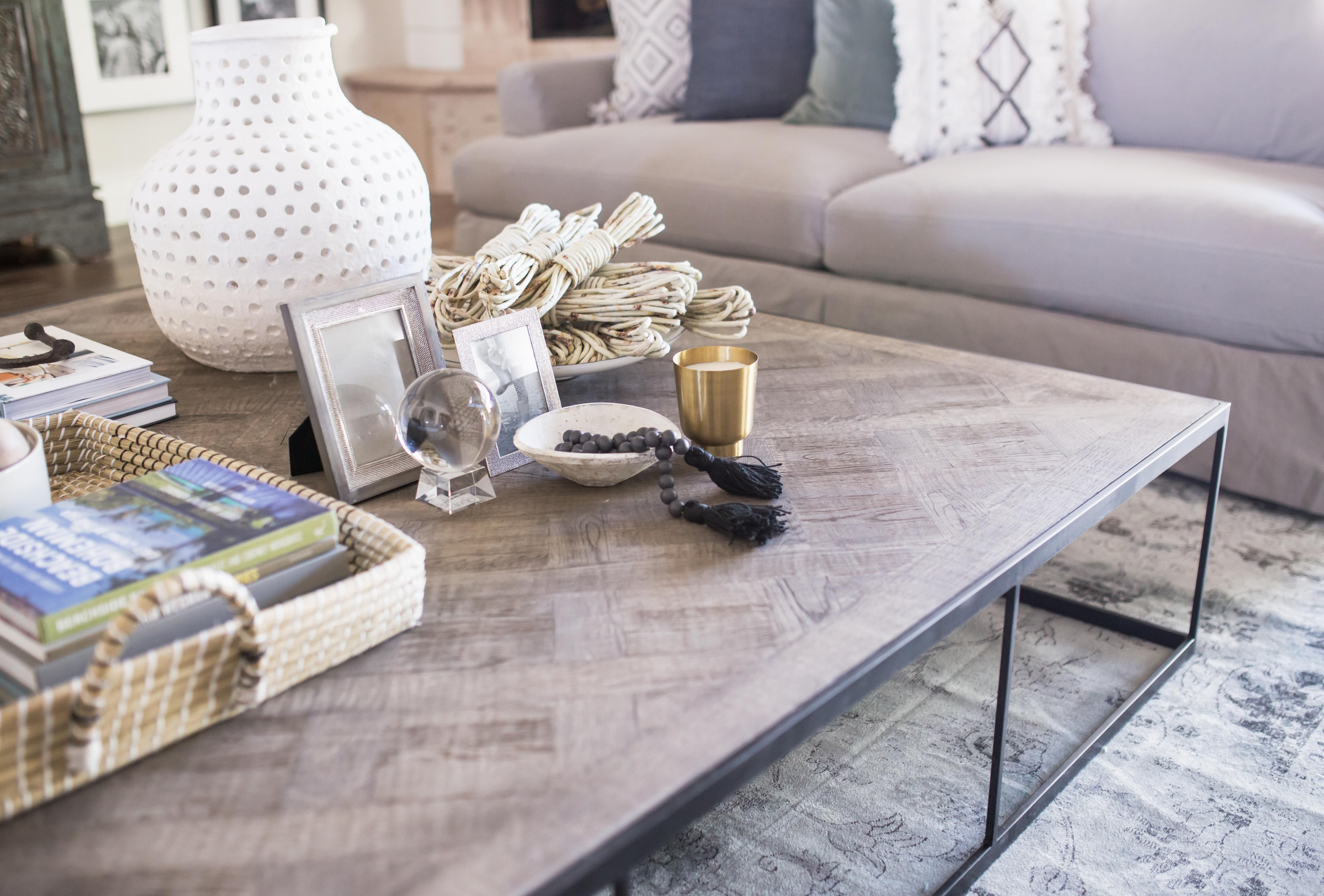 - Santa Barbara Style Home- Coffee Table Styling THE LIFESTYLED