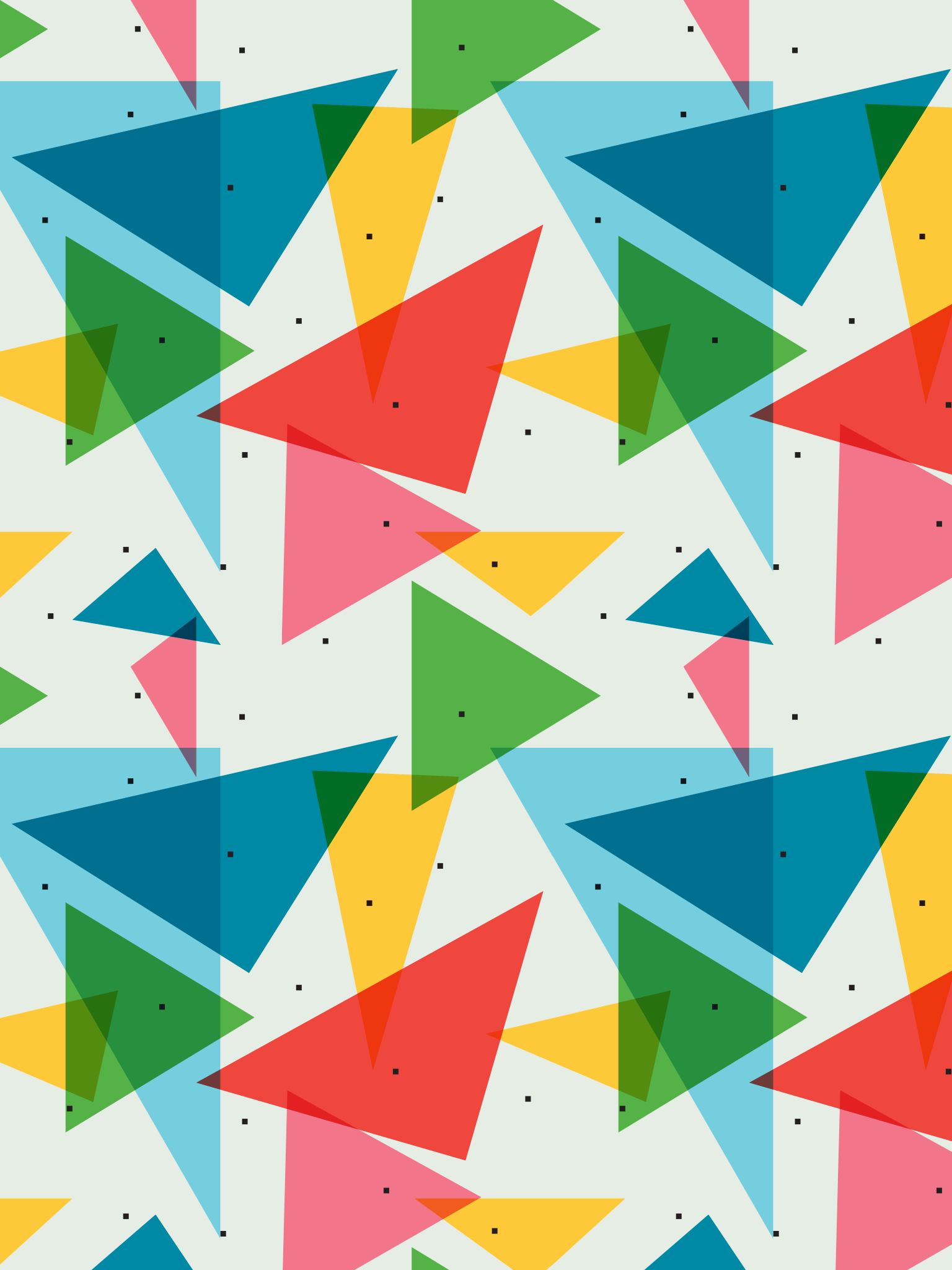 Colourful Triangle Simple Geometric Pattern Background Patterns
