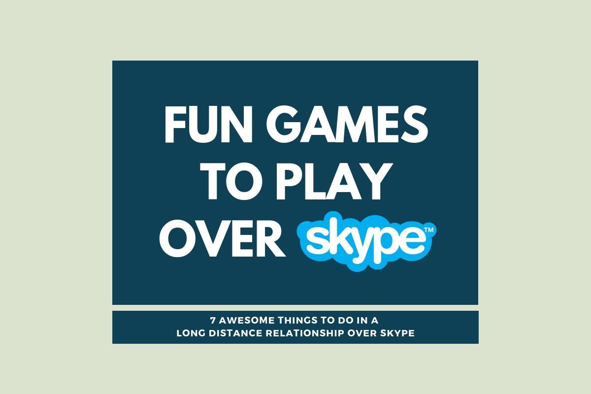 Skype date games