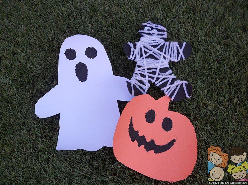 3 Manualidades fáciles para Halloween