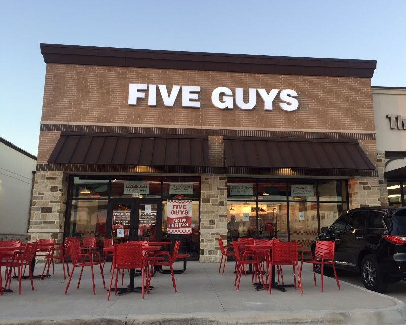 Five guys survey in 2020 guys restaurant fast casual