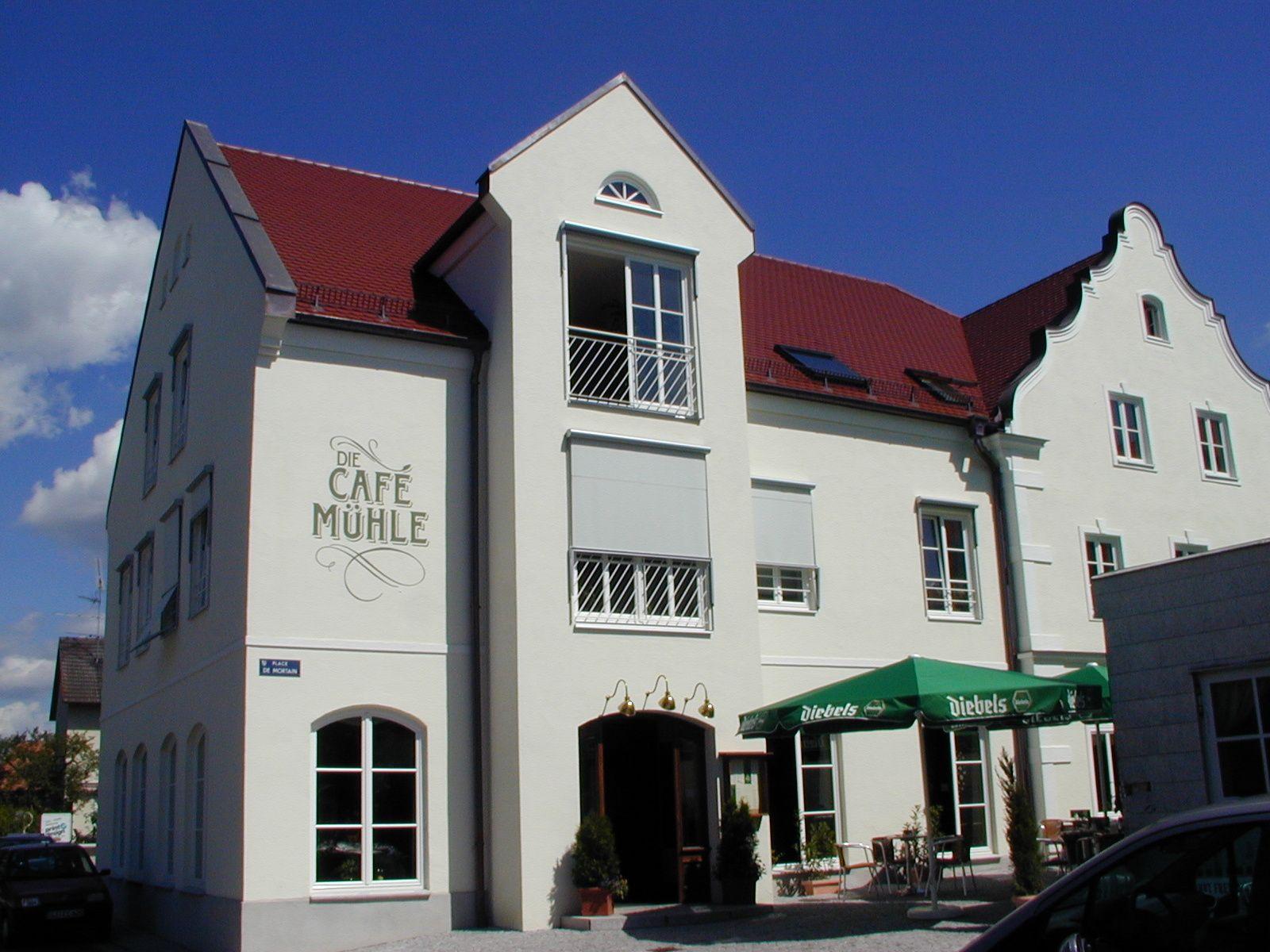 Sanierung der CaféMühle in Thannhausen, realisiert durch