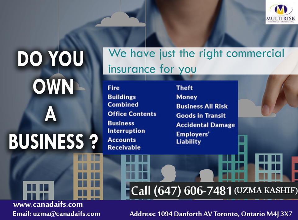 Canada Ifs Offers Commercial Insurance That Meets The Needs Of