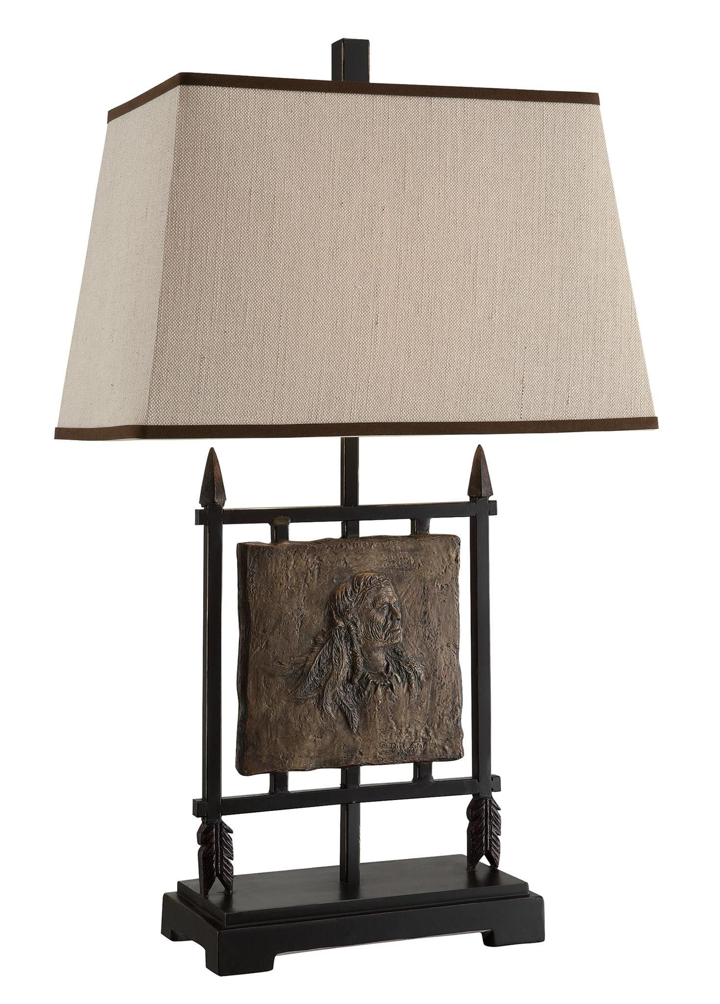 Crestview native american table lamp 29ht csaup788 products crestview native american table lamp 29ht csaup788 aloadofball Image collections