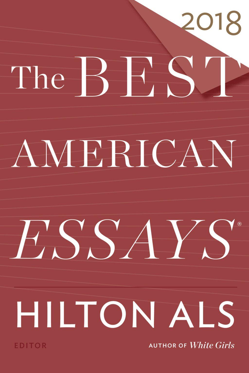 The Best American Essay 2018 Ebook Good Essays