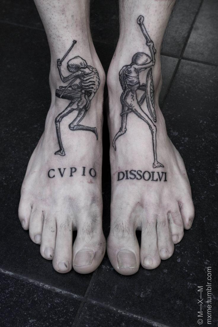 Danse Macabre Tattoo Google Search Feet Tattoos Tattoos
