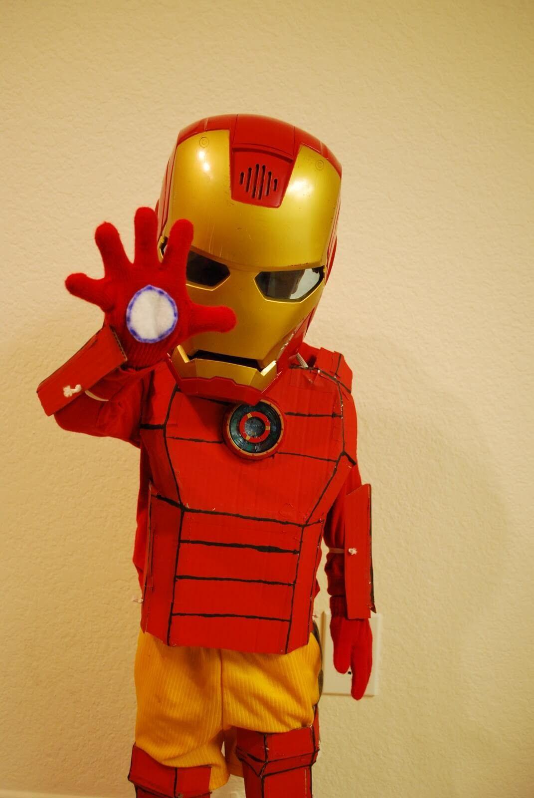 DIY Ironman Superhero Costumes Diy superhero costume