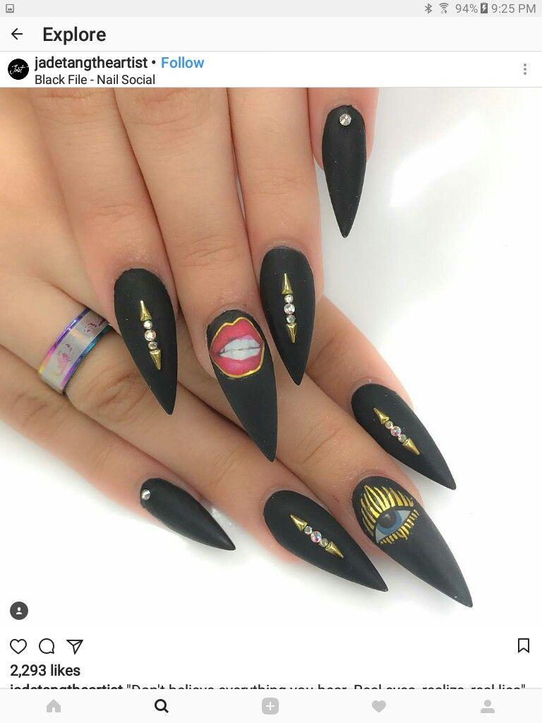 Pin de Yarely Rodriguez en uñas (con imágenes) | Uñas ...