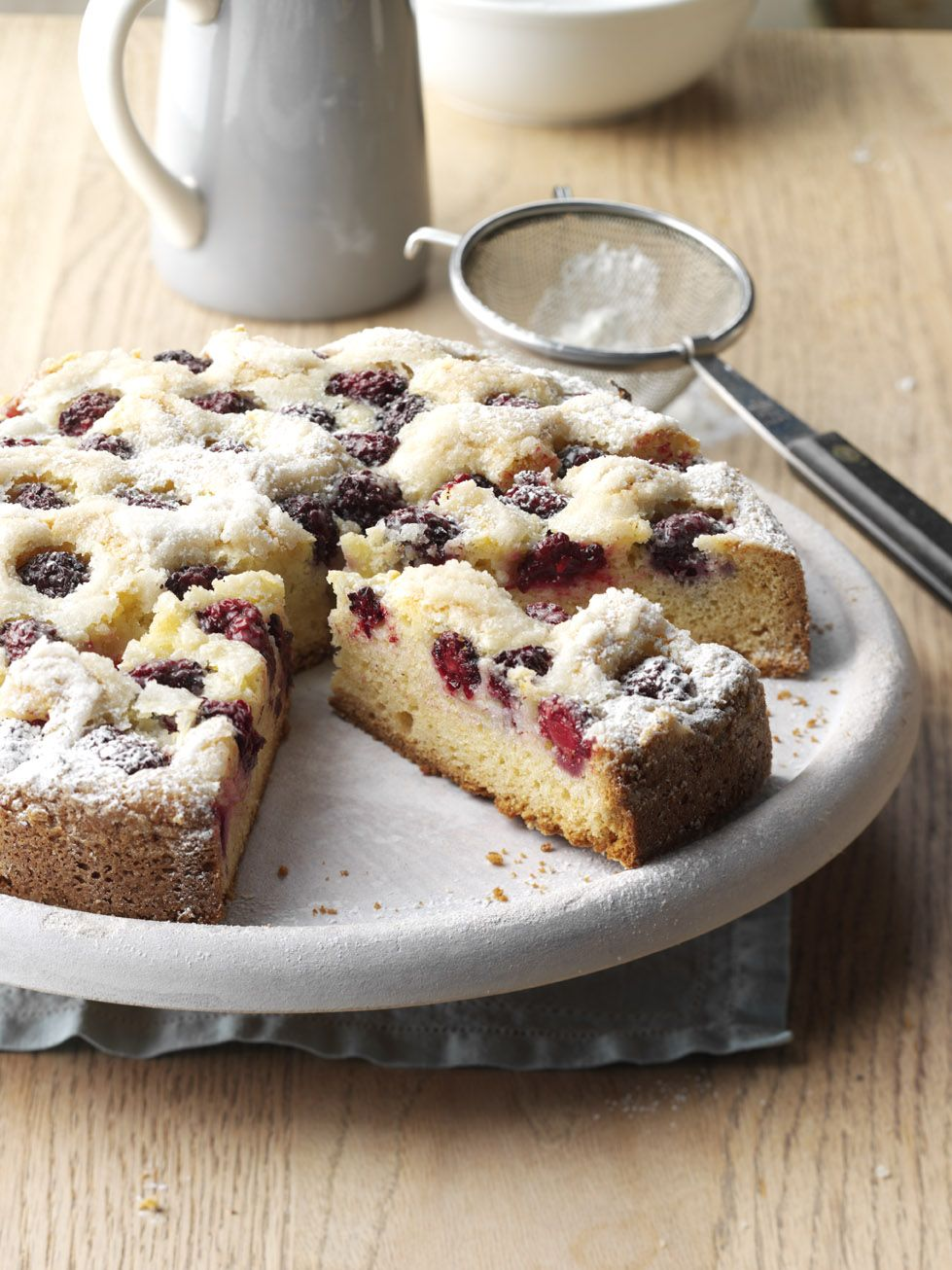 Blackberry-Orange Cake Recipe from Taste of Home   This contest-winning cake recipe will have you coming back again and again for it's decadent flavor.