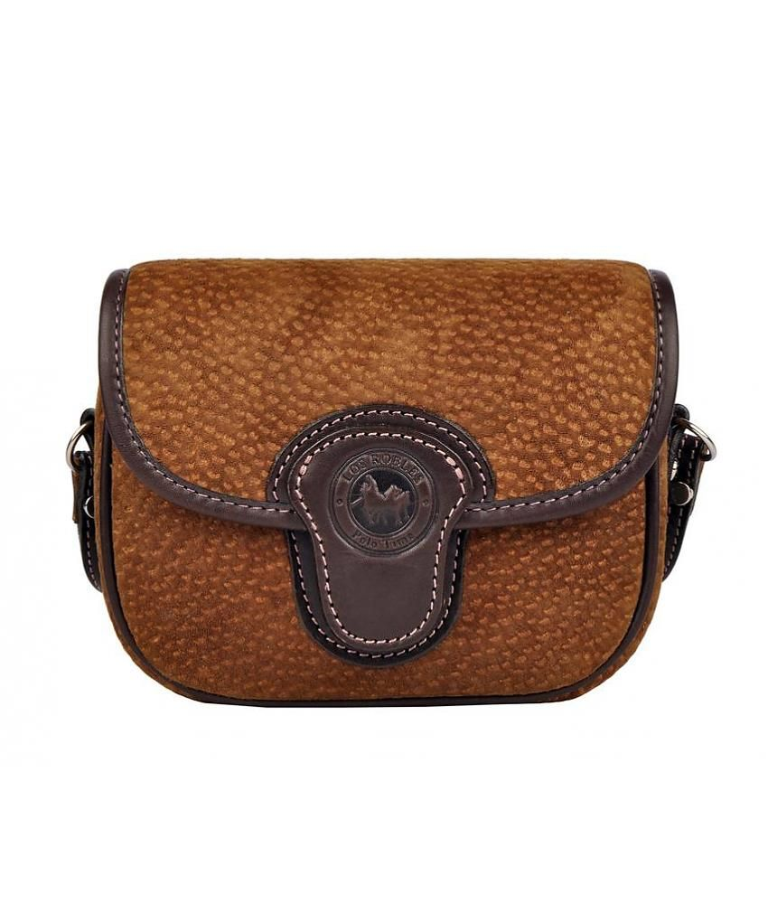 dbed28adaa5 Los Robles Polo Time Chas - across bag - carpincho - brown ...