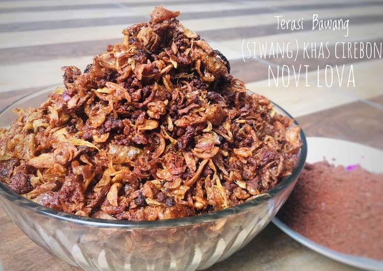 Resep Terasi Bawang Siwang Khas Cirebon Recipe Recipes Food Breakfast
