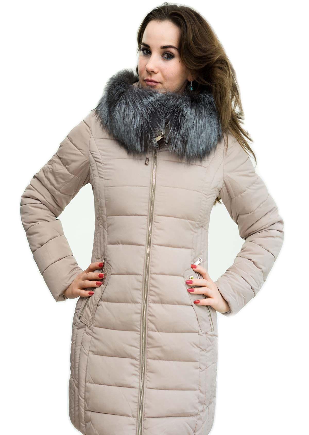 8a2181e97d3cae Ein wunderschöner Mantel mit abnehmbaren Silberfuchs Pelzkragen der auch  als großzügige Echtfellkapuze dienen kann, sodass