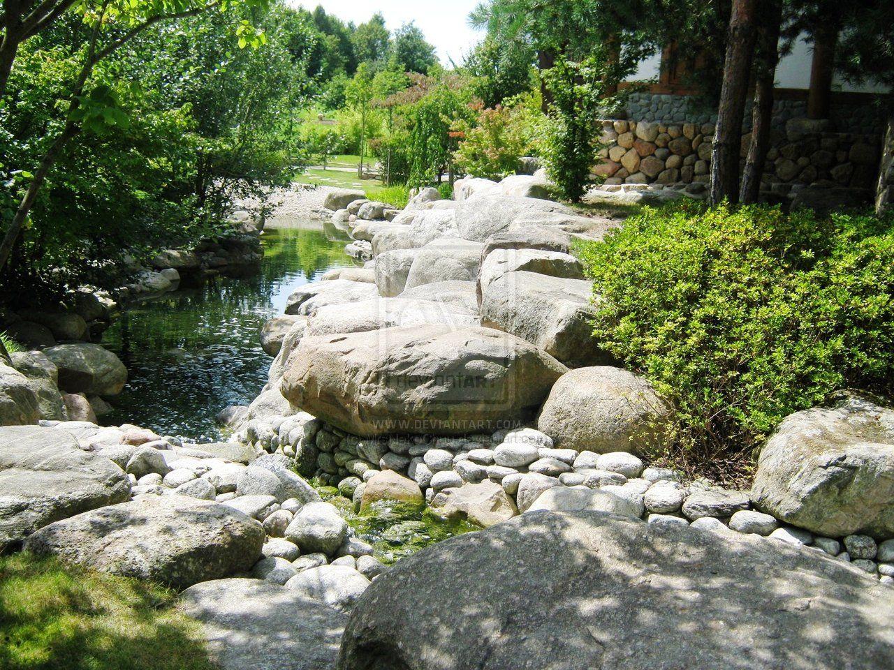 Korean+Gardens | Korean Style Garden by MrsNekoChuu